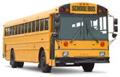View our school bus glass and windshield products